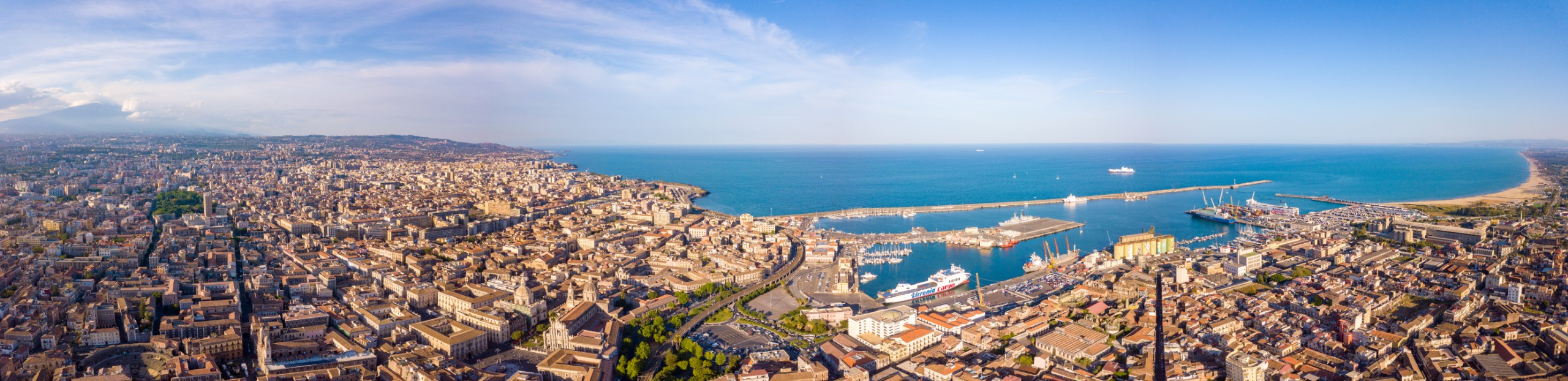 See port of Catania